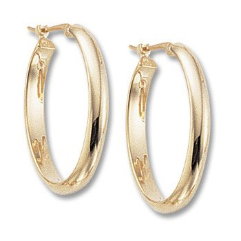 Medium Oval Hoops