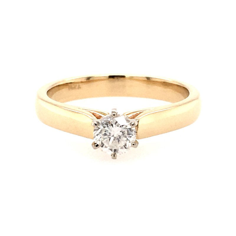 B&C Creations Classic Solitaire Engagement Ring
