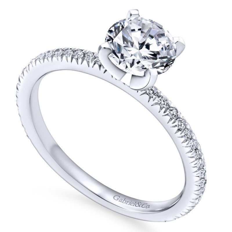 Gabriel & Co. -  IN-STORE COLLECTION Round Diamond Engagement Ring