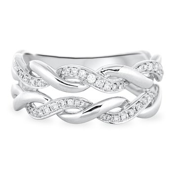 Double Twisted Diamond Band
