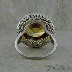 B&C Estate Collection Golden Zircon Ring