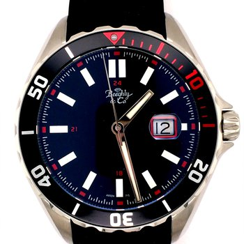 Rubber Strap Diver's Watch