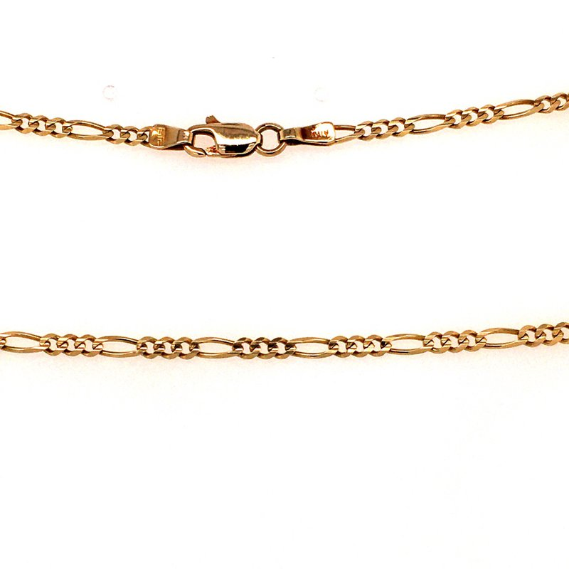"B&C Estate Collection 18"" Figaro Chain"
