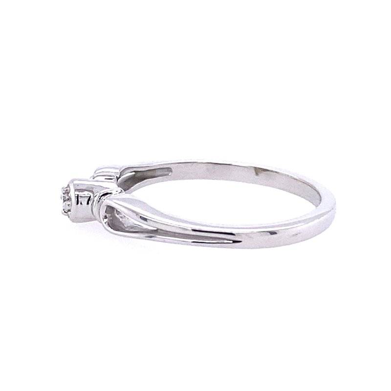 B&C Collections Diamond Promise Ring