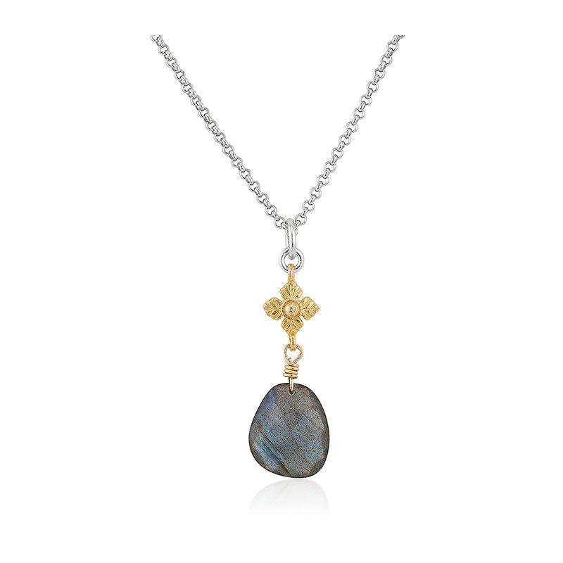 Anatoli Jewelry Labradorite Drop Pendant