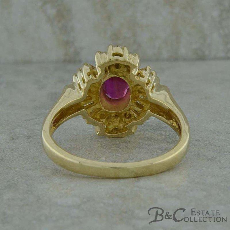 B&C Estate Collection Ruby & Diamond Ring