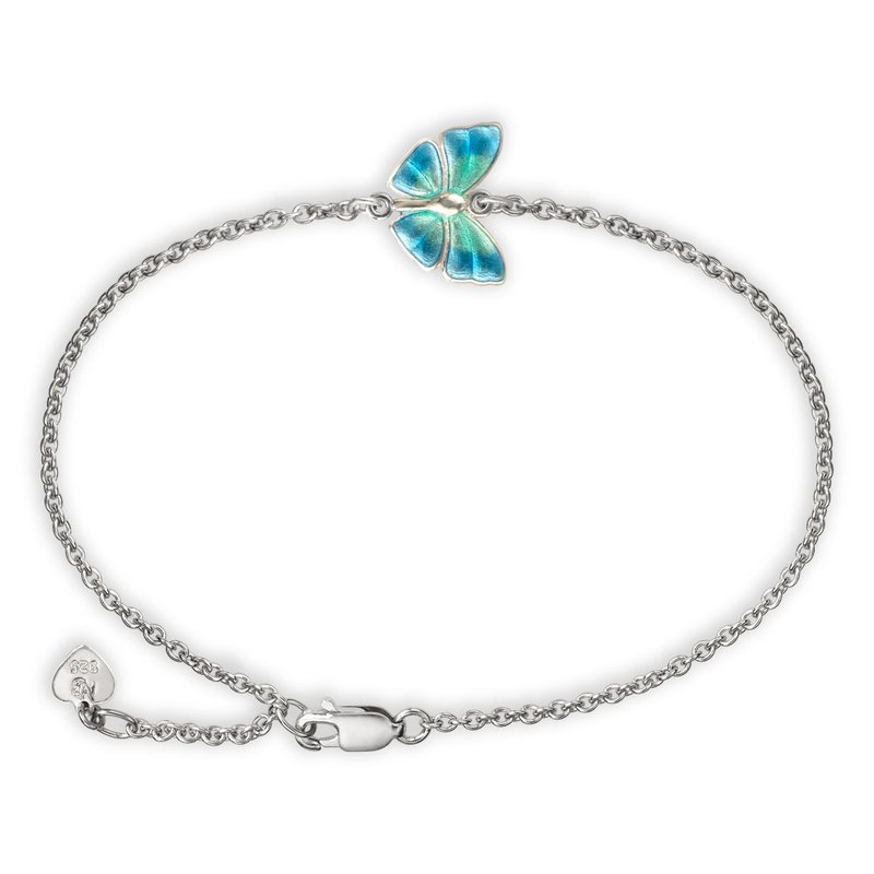Nicole Barr Designs IN-STORE Collection Blue Butterfly Bracelet