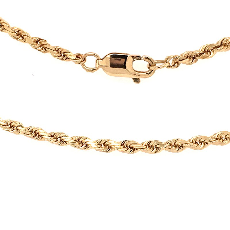 "B&C Estate Collection Classic 16"" Rope Chain"