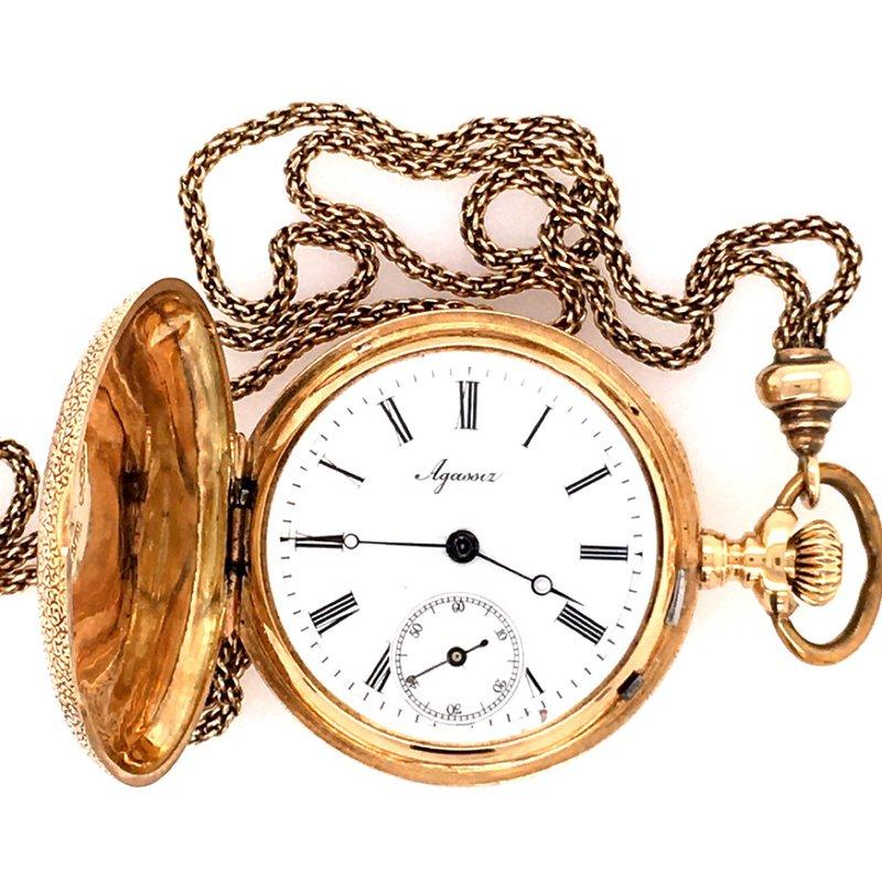 B&C Estate Collection Agassiz Pocket Watch w/ Chain