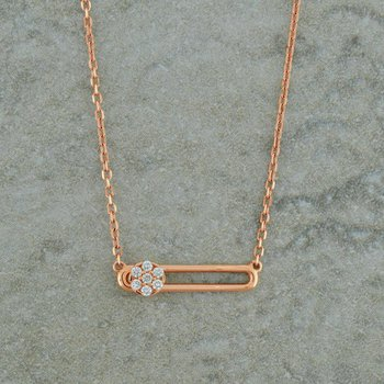 Diamond Slide Necklace