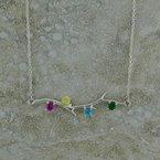 B&C Collections Tree Branch Birthstone Necklace