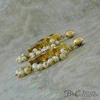 B&C Estate Collection Multi Gemstone Earrings