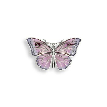Purple Butterfly Brooch