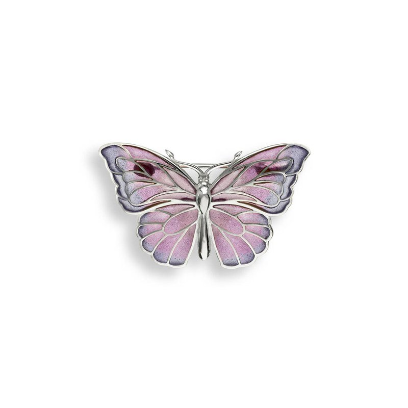 Nicole Barr Designs IN-STORE Collection Purple Butterfly Brooch