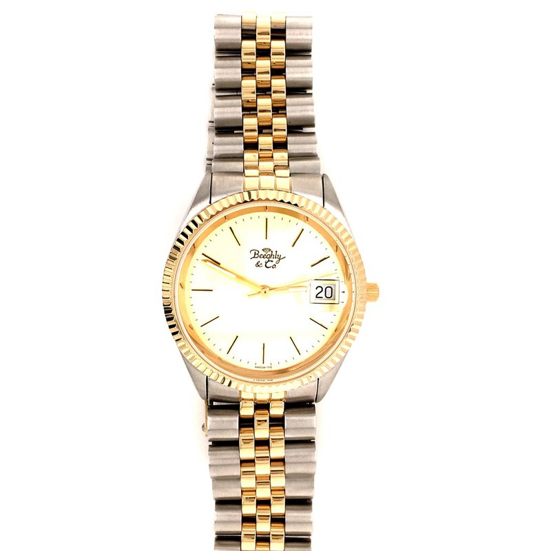 B&C Collections Two Tone Men's Watch
