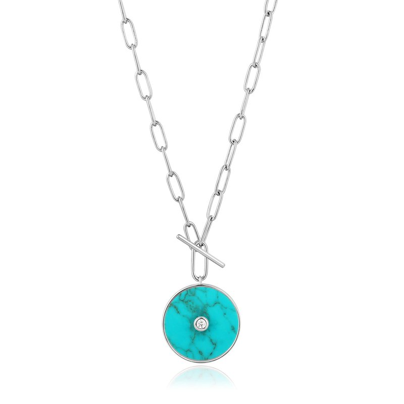 Ania Haie Turquoise T-Bar Necklace