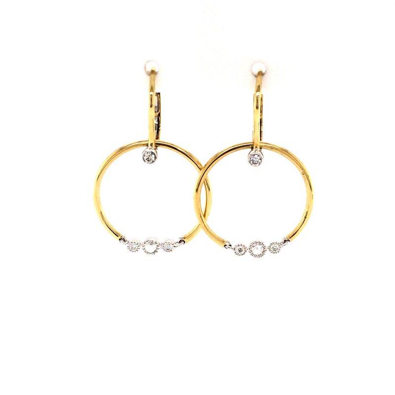 BRIAN'S VAULT Diamond Tango Earrings