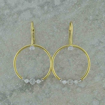 Diamond Tango Earrings