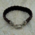 William Henry Deerskin Braided Bracelet