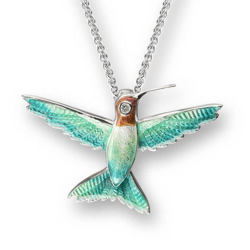 Nicole Barr Designs IN-STORE Collection Hummingbird Pendant
