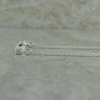 Single Birthstone Bar Necklace