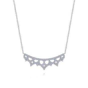 Diamond Lace Necklace