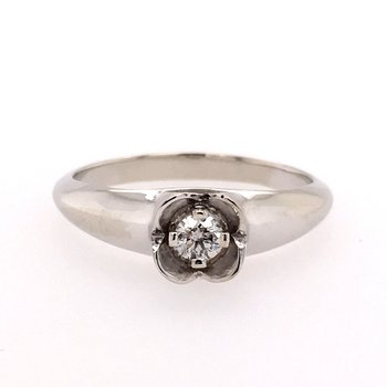 Petite Diamond Fashion Ring