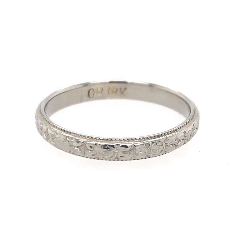 B&C Estate Collection Textured Fancy Band