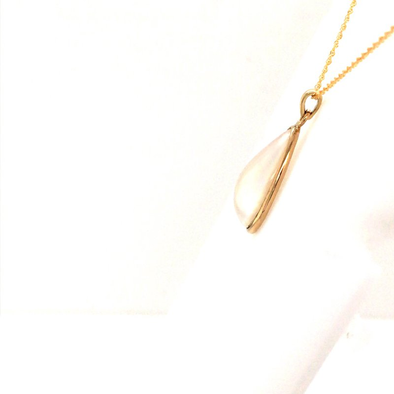 B&C Estate Collection Mabe Pearl Pendant