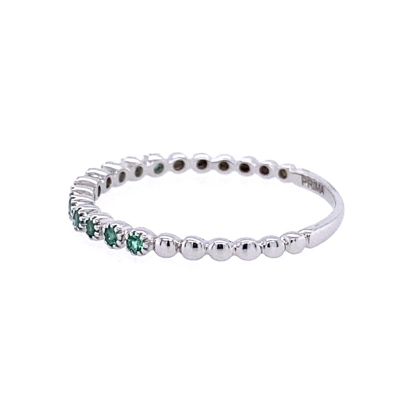 B&C Collections Emerald Beaded Band