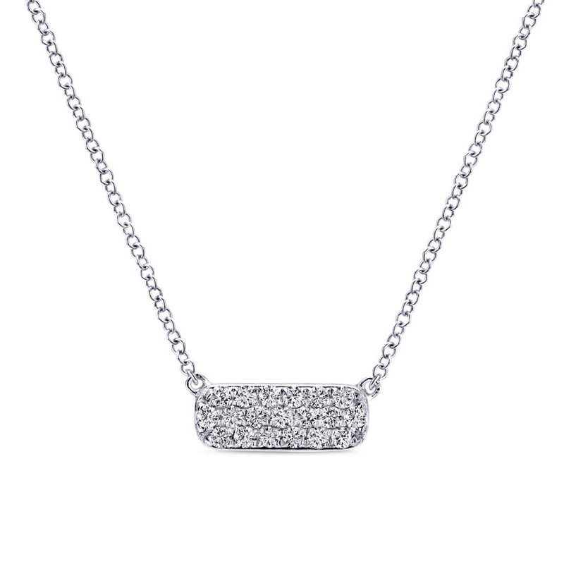 Gabriel & Co. -  IN-STORE COLLECTION Petite Bar Necklace
