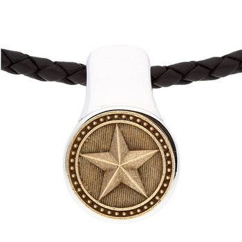 Americana Ranger Shell Pendant