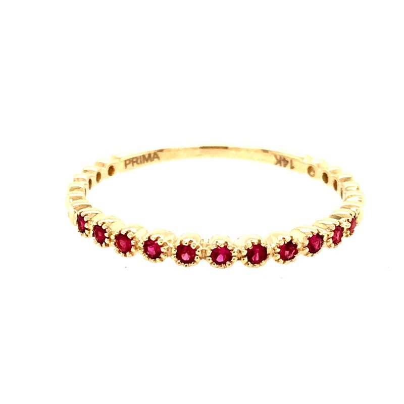 B&C Collections Ruby Beaded Band
