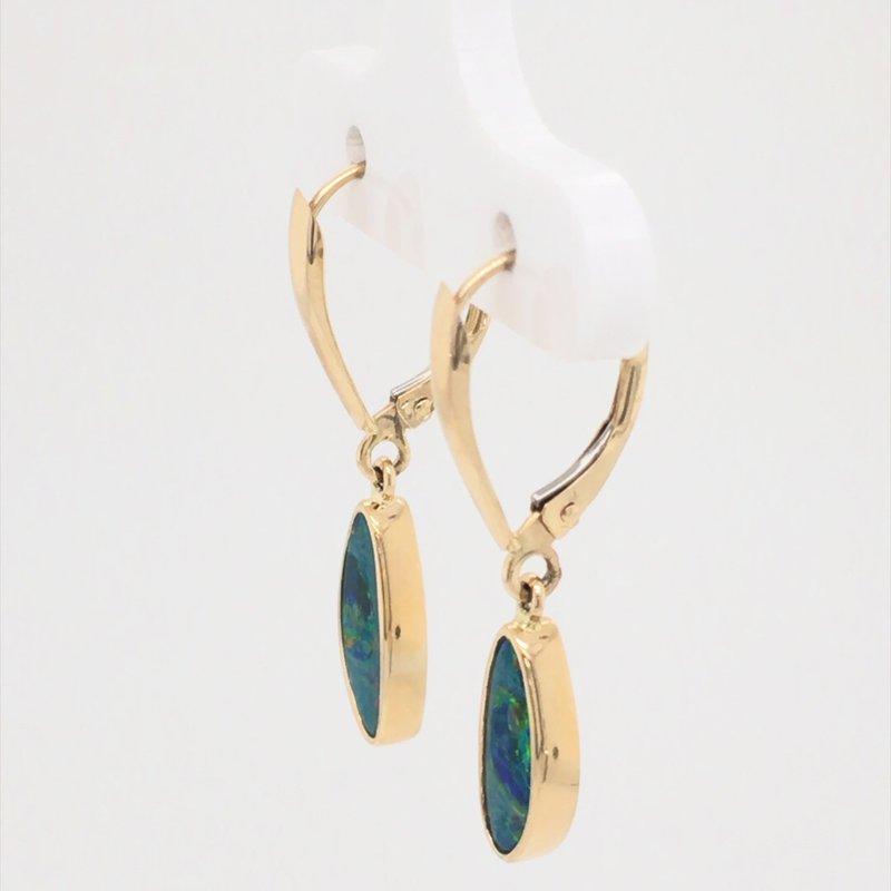 Parlé Australian Opal Doublet earrings