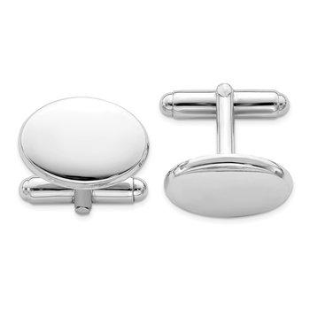Oval Engraveable Cufflinks