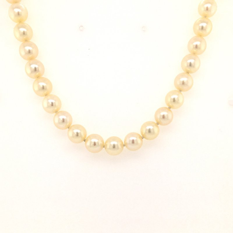 B&C Estate Collection Saltwater Cultured Pearl Necklace