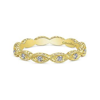 Marquis Stackable Diamond Band
