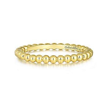 Bujukan Beaded Stackable Band