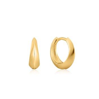 Single Spike Huggie earrings