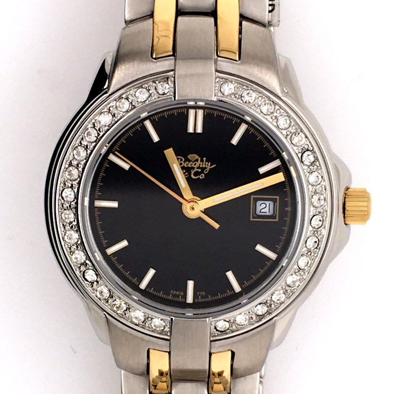 B&C Collections Ladies Two Tone Watch