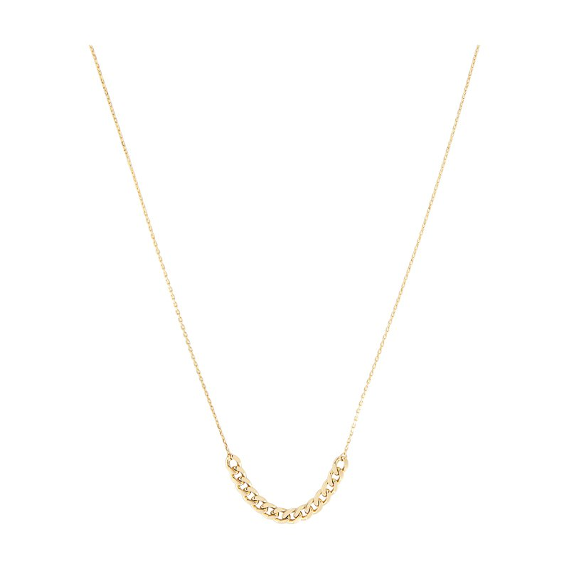 B&C Collections Curb Chain accented Cable Chain