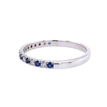 Diamond and Sapphire Band