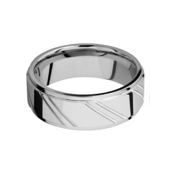 Cobalt Chrome 5mm Striped Band