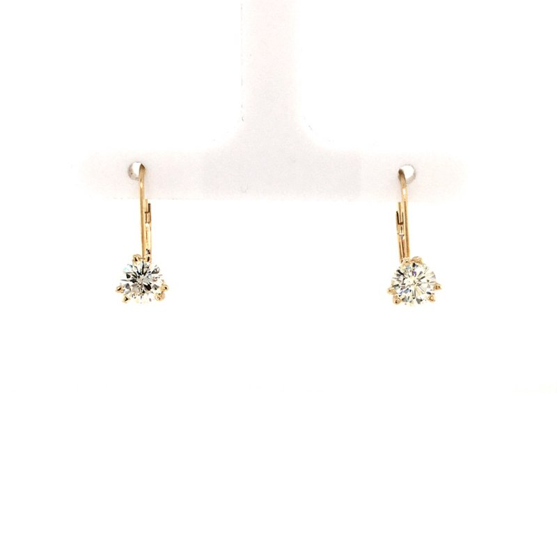B&C Creations Diamond dangle Earrings