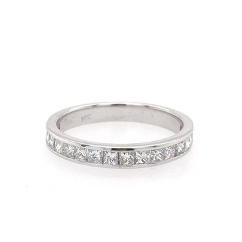 Classic Princess Cut Diamond Band
