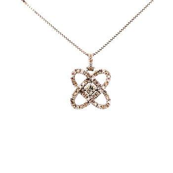 Orbital Diamond Pendant