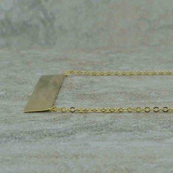 Engravable Drop Necklace