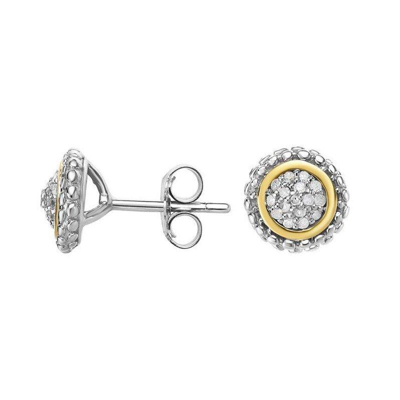 Phillip Gavriel Diamond Cluster Earrings