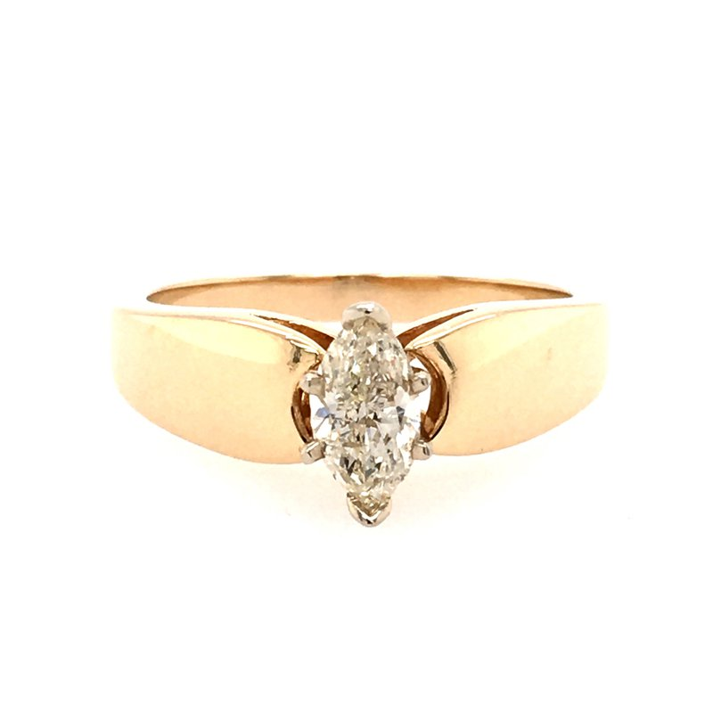 B&C Collections Marquise Engagement Ring