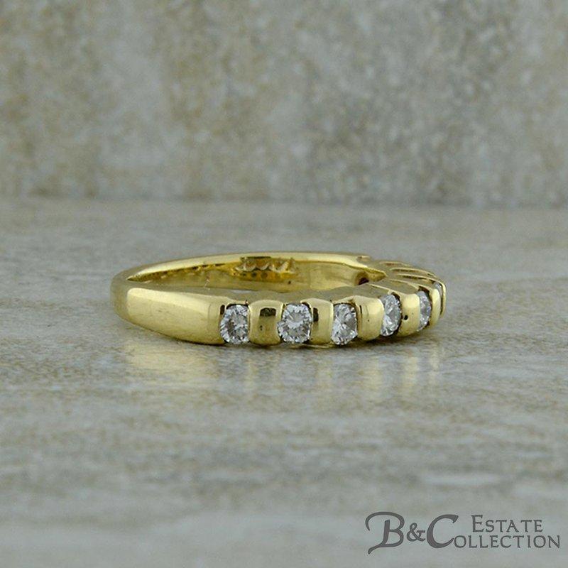 B&C Estate Collection Diamond Wedding Band